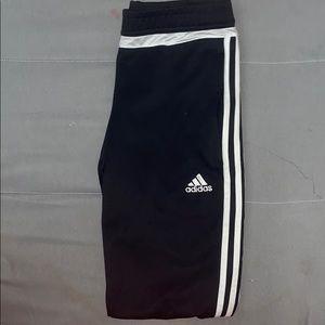 Adidas sweatpants striped